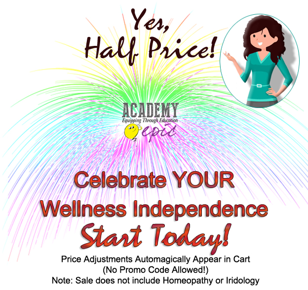 Natural Health Courses - Half Off!